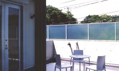 S邸-家の中に外を内包した家-神戸 (テラス)