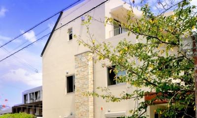 T邸-RC造で地震に強く外断熱の家-神戸