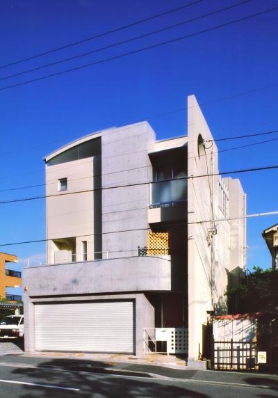 Y邸-眺望のよいのびやかな家-神戸 (外観)