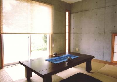 Y邸-眺望のよいのびやかな家-神戸 (和室)