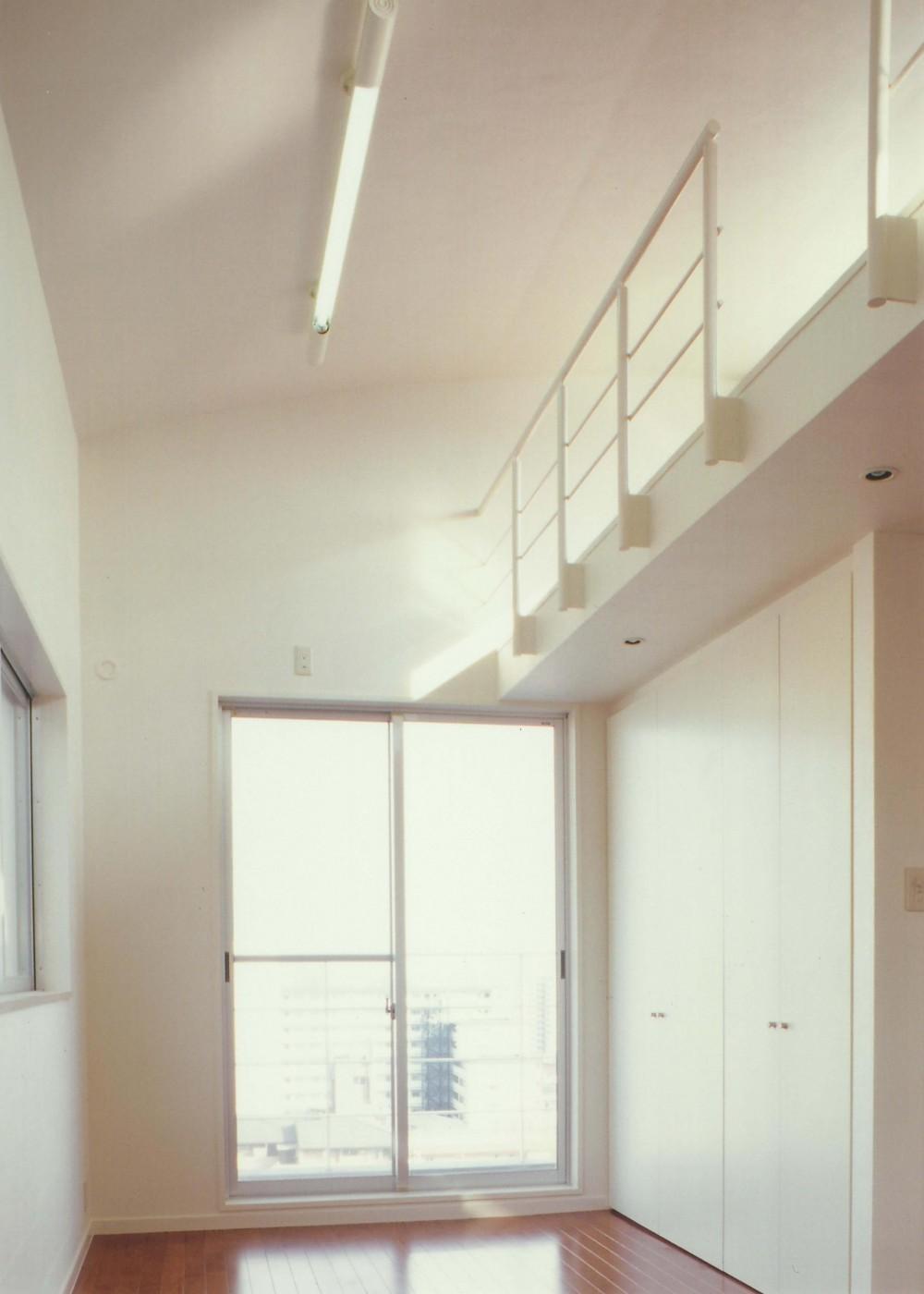 Y邸-眺望のよいのびやかな家-神戸 (子供室)