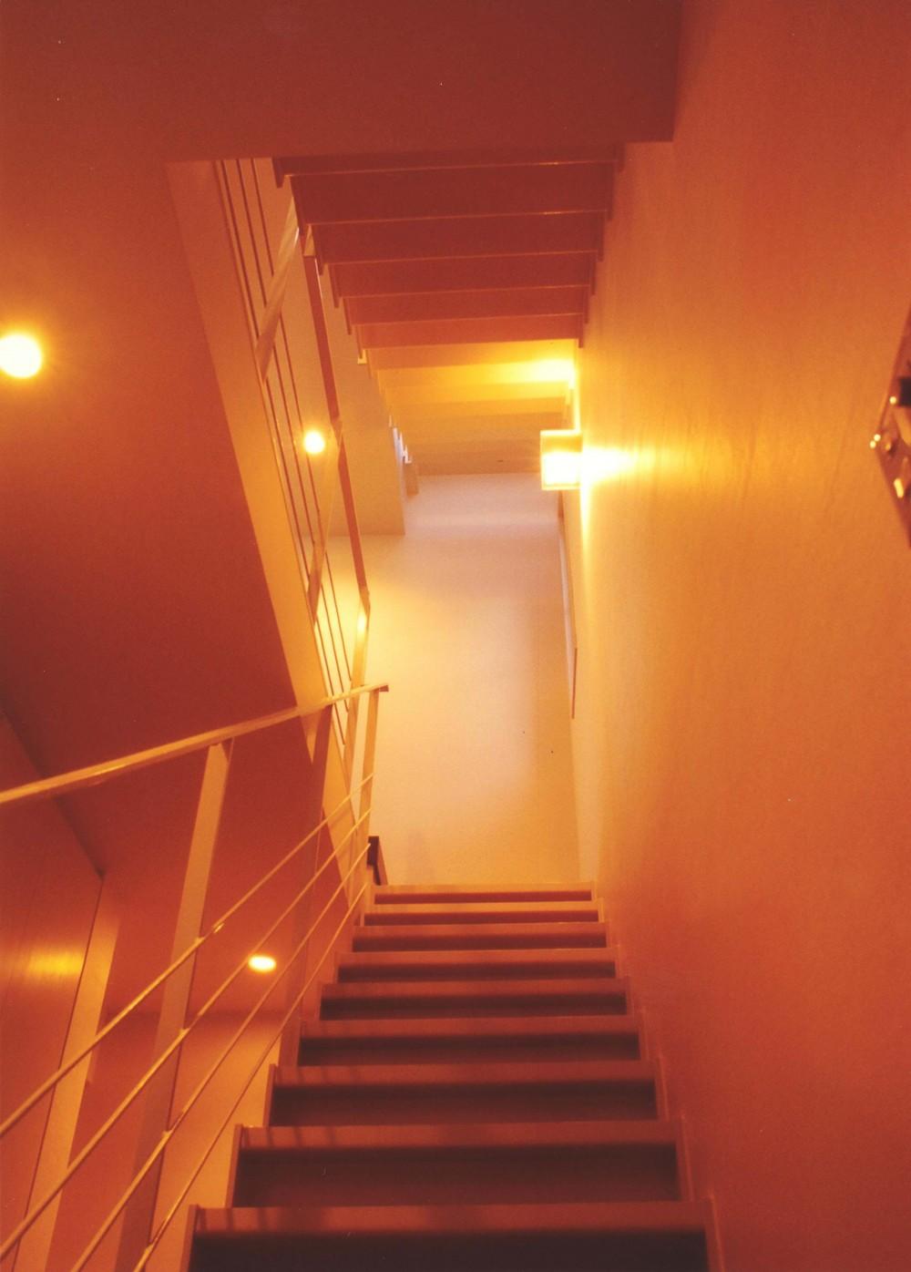Y邸-眺望のよいのびやかな家-神戸 (階段)