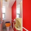 3階お子様用カラフルトイレ