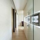 東中野の住宅-2(K邸アネックス)の写真 廊下