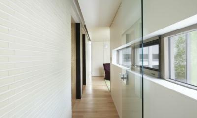 東中野の住宅-2(K邸アネックス) (廊下)