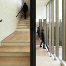 東中野の住宅-2(K邸アネックス)の写真 階段