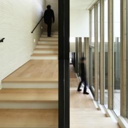 K邸アネックスの写真 階段