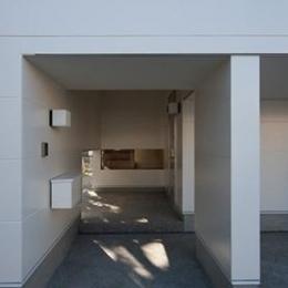 小倉の家 (玄関アプローチ)