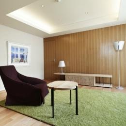 東中野の住宅-2(K邸アネックス) (リビングルーム)