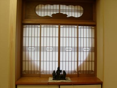 A邸書院(旧家のものを転用) (H邸-親子三世帯で住むこだわりの家-芦屋)