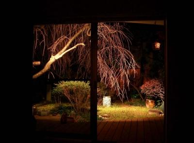 H邸-親子三世帯で住むこだわりの家-芦屋 (A邸和室夜景)