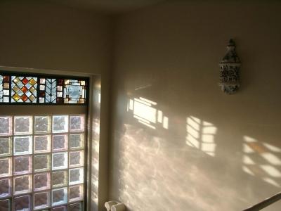 A邸階段室 (H邸-親子三世帯で住むこだわりの家-芦屋)