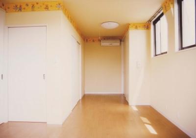C邸子供室 (H邸-親子三世帯で住むこだわりの家-芦屋)