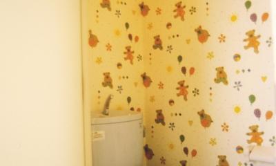 H邸-親子三世帯で住むこだわりの家-芦屋 (C邸トイレ)