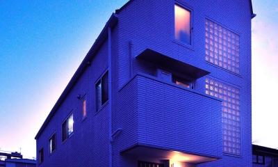 W邸-都心に建つ瀟洒な二世帯住宅-東京・神楽坂