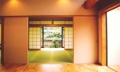 うすきの家-時がゆったりと流れる家-大分・臼杵 (和室)