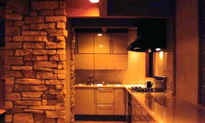 うすきの家-時がゆったりと流れる家-大分・臼杵 (キッチン)