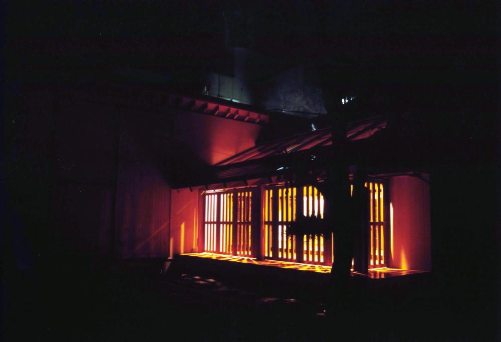 うすきの家-時がゆったりと流れる家-大分・臼杵 (外観夜景)