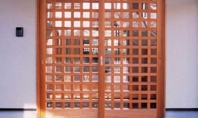 うすきの家-時がゆったりと流れる家-大分・臼杵 (玄関)