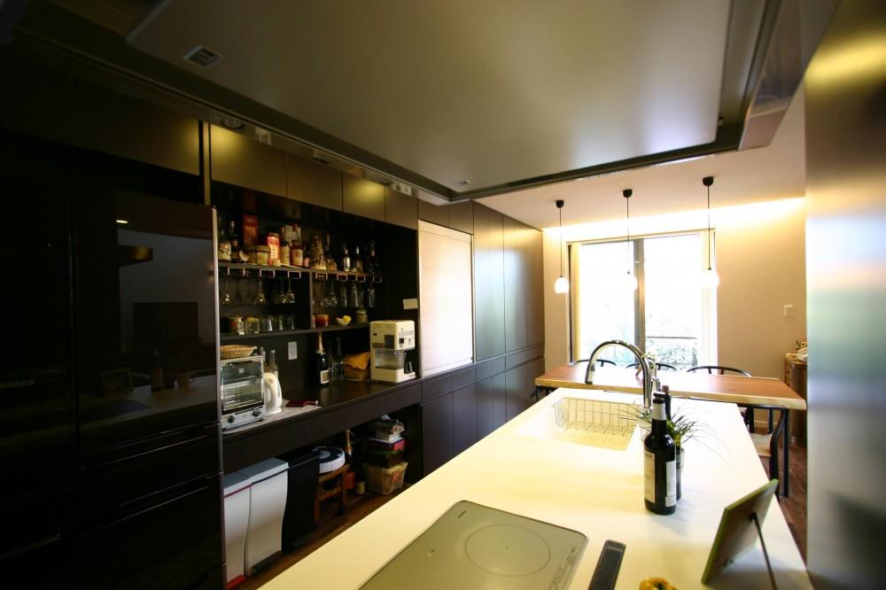 御池台の家 (キッチン)