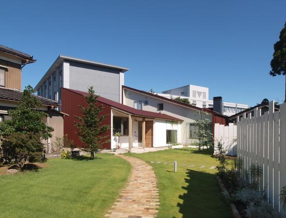 庭と暮らす家の部屋 外観