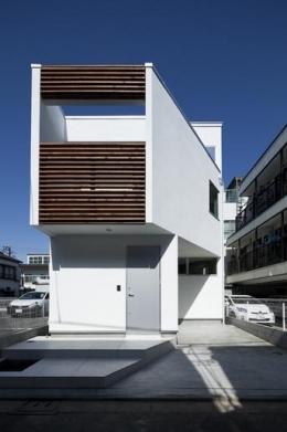 板橋の家 (外観(撮影:kentahasegawa))