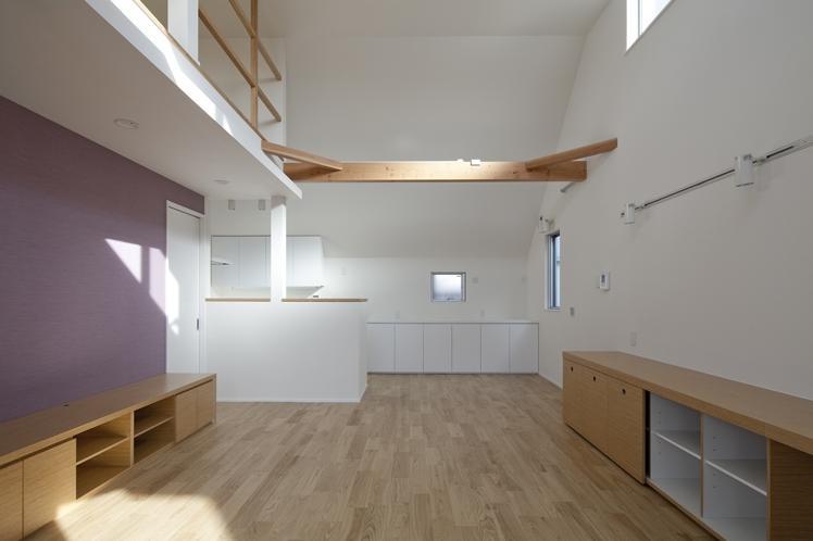板橋の家の部屋 リビング(撮影:kentahasegawa)