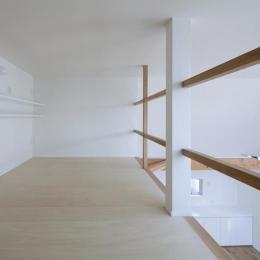板橋の家 (ロフト(撮影:kentahasegawa))