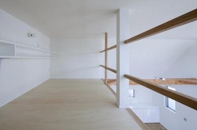 ロフト(撮影:kentahasegawa) (板橋の家)