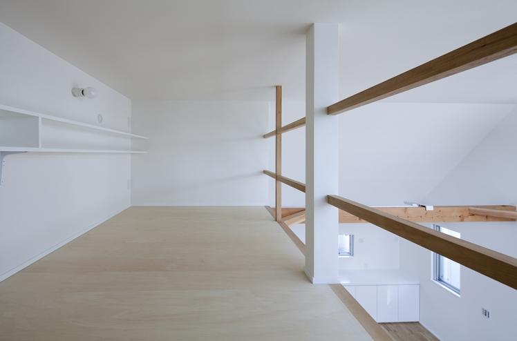 板橋の家の部屋 ロフト(撮影:kentahasegawa)