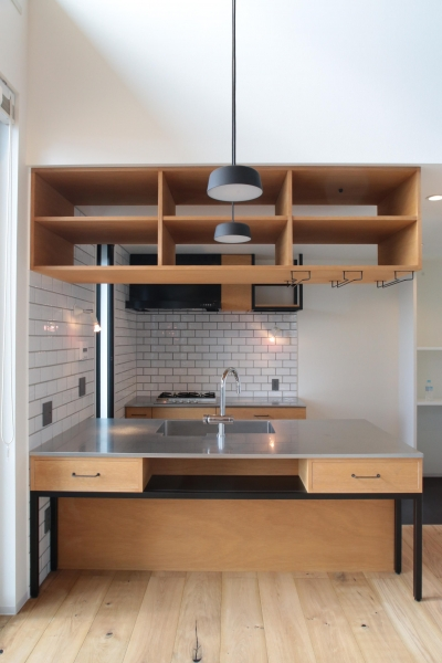 キッチン1 (東久留米の家)