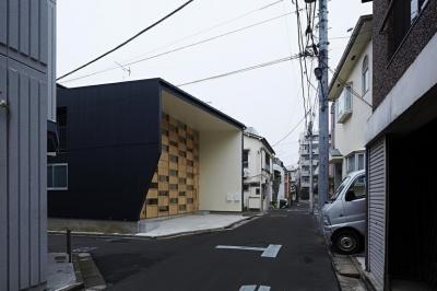 外観1 (駒込・市松模様の家)