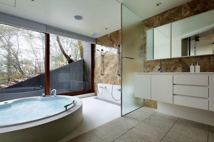 T別荘の部屋 バスルーム