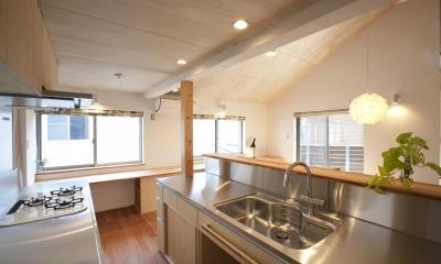 キッチン|久が原の家