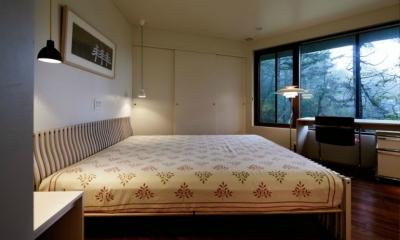 軽井沢の別荘(T邸) (ベッドルーム)