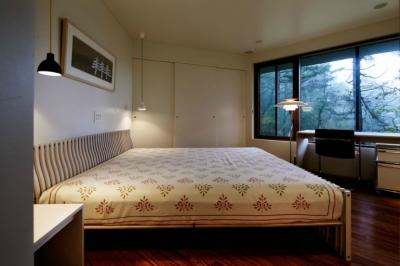 ベッドルーム (軽井沢の別荘(T邸))