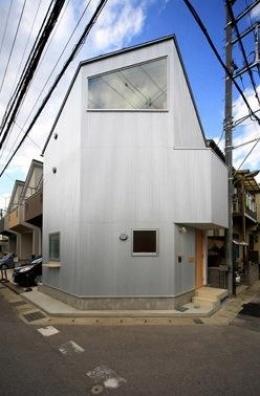 ミニマムハウス te-house (外観(撮影:永石写真事務所))