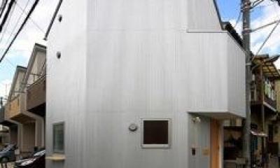 『ミニマムハウス』 9坪の敷地に建つアトリエ住宅