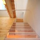 階段下の床(撮影:永石写真事務所)