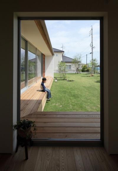 竹ノ腰の家 (玄関ホール)