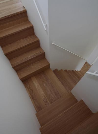 竹ノ腰の家 (階段)