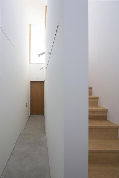 東三方の家 (エントランス)