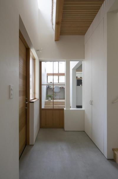 長湫の家 (玄関ホール)