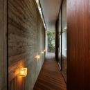 軽井沢の別荘(T邸)の写真 外廊下
