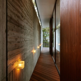 軽井沢の別荘(T邸) (外廊下)