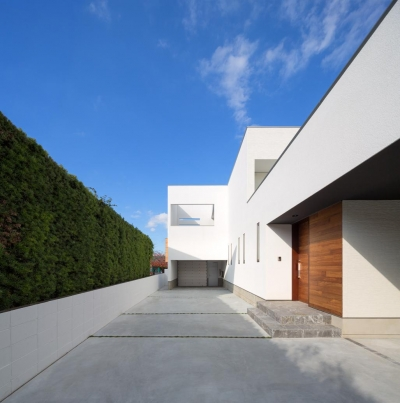 外観 (A2-house「shell house」)