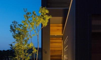 M4-house「重なり合う家」 (玄関)