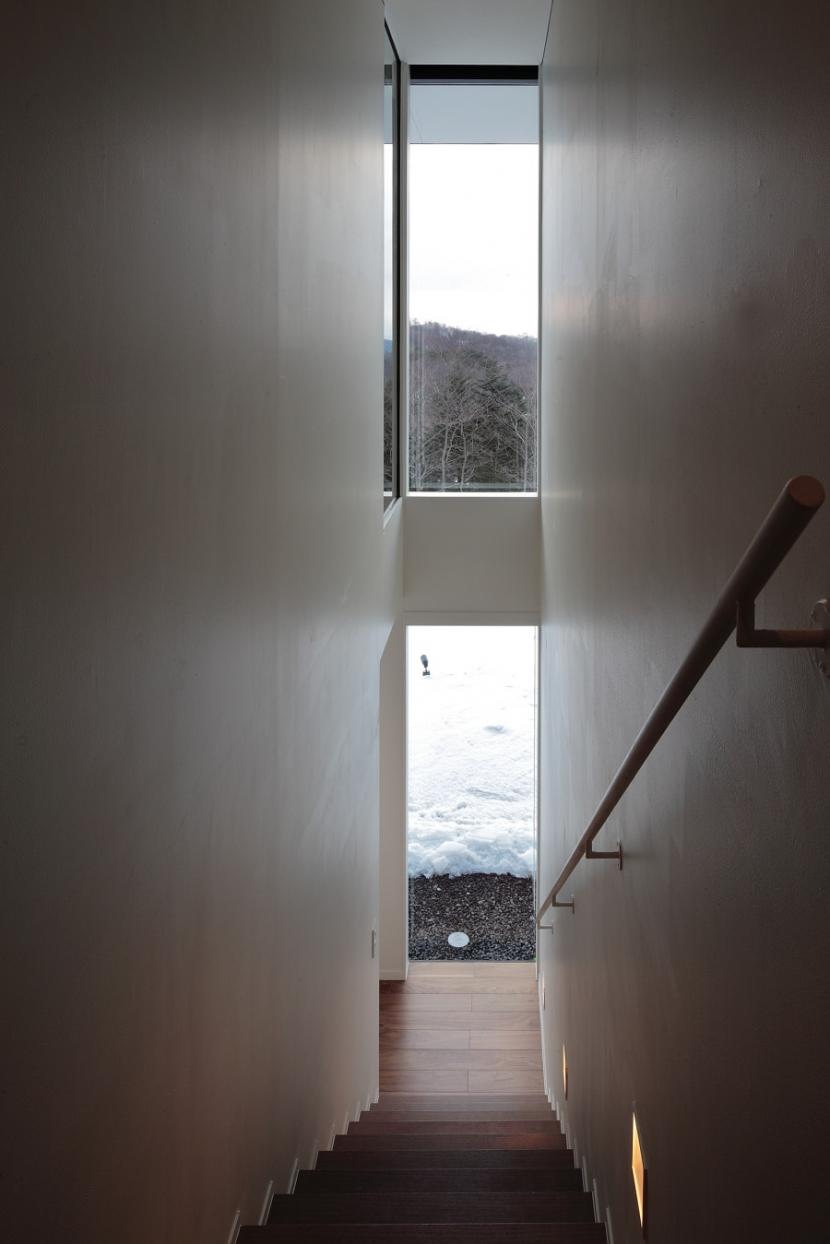 軽井沢の別荘(A邸) (階段)