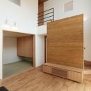 趣味を楽しむ土間の家の写真 リビング・畳スペース