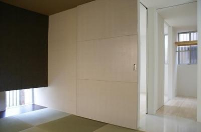 和室 収納スペース (SA邸)